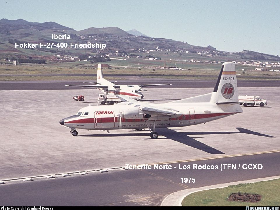Iberia Fokker F-27-400 Friendship
