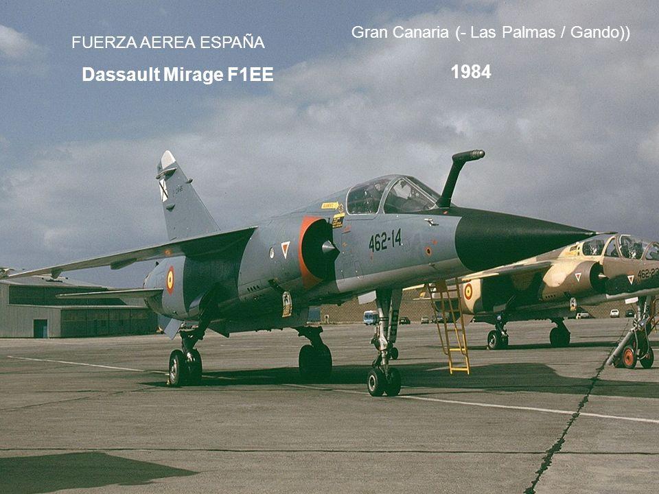1984 Dassault Mirage F1EE Gran Canaria (- Las Palmas / Gando))