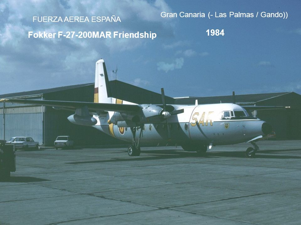Fokker F-27-200MAR Friendship
