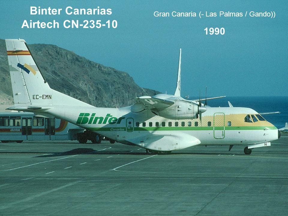 Binter Canarias Airtech CN-235-10