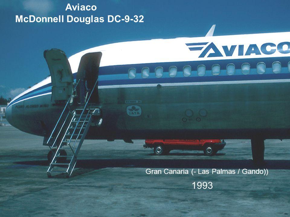 Aviaco McDonnell Douglas DC-9-32