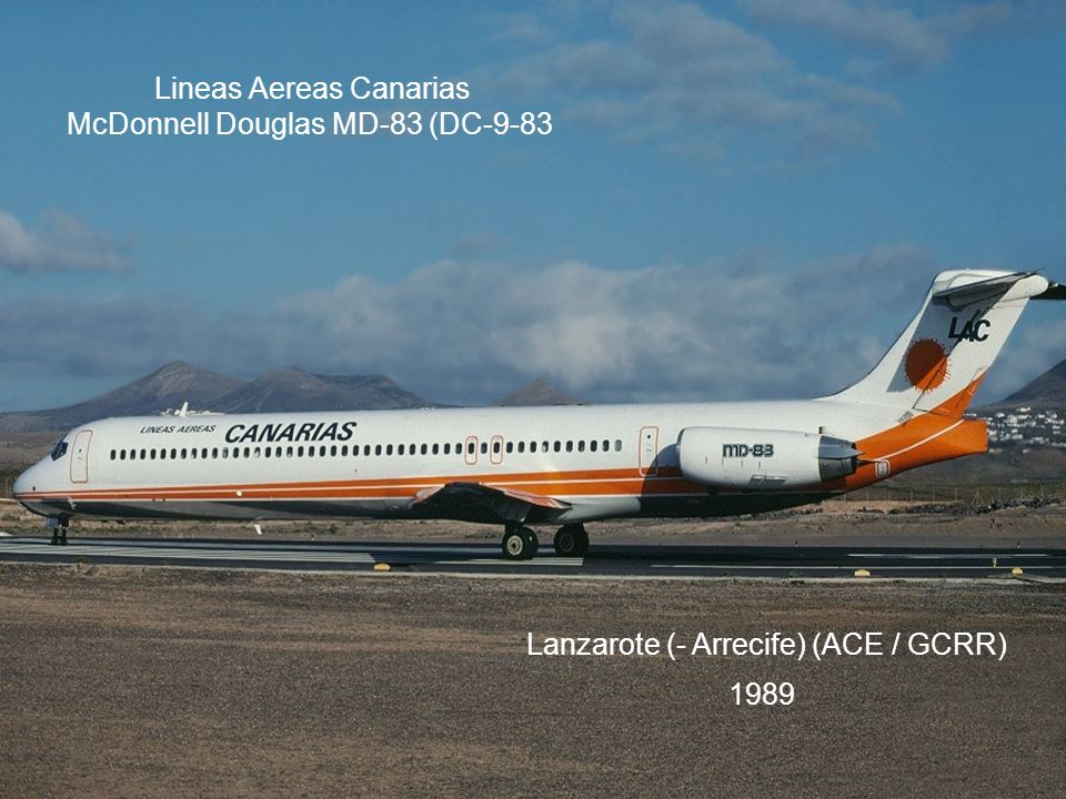 Lineas Aereas Canarias McDonnell Douglas MD-83 (DC-9-83