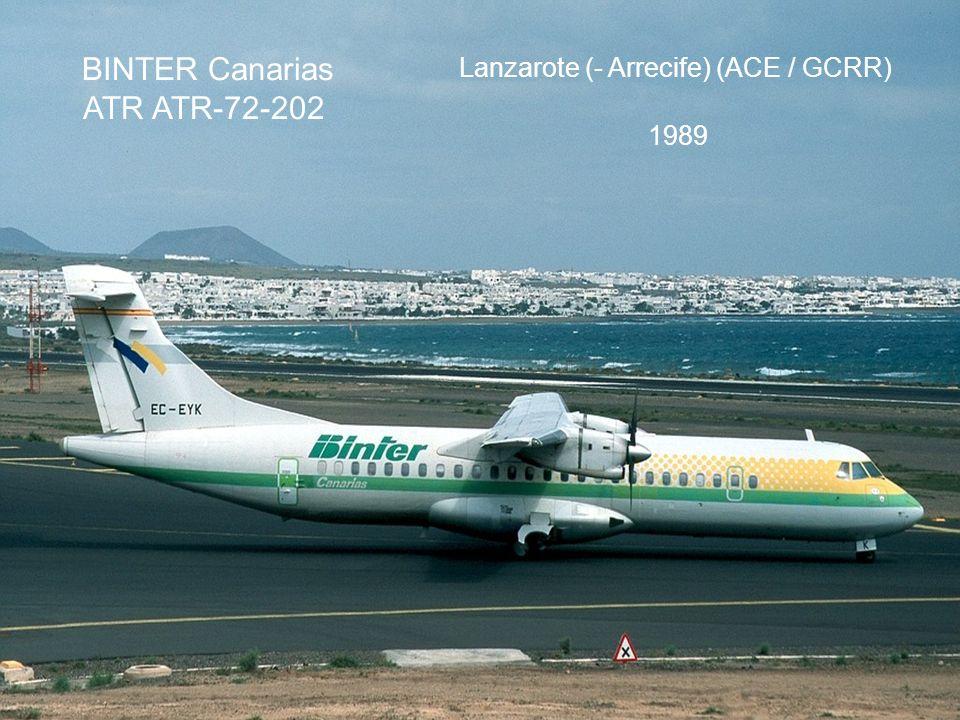 BINTER Canarias ATR ATR-72-202