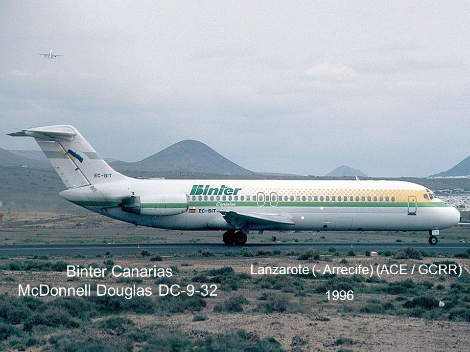 Binter Canarias McDonnell Douglas DC-9-32
