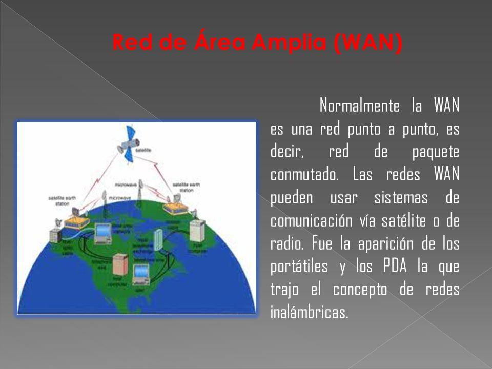 Red de Área Amplia (WAN)