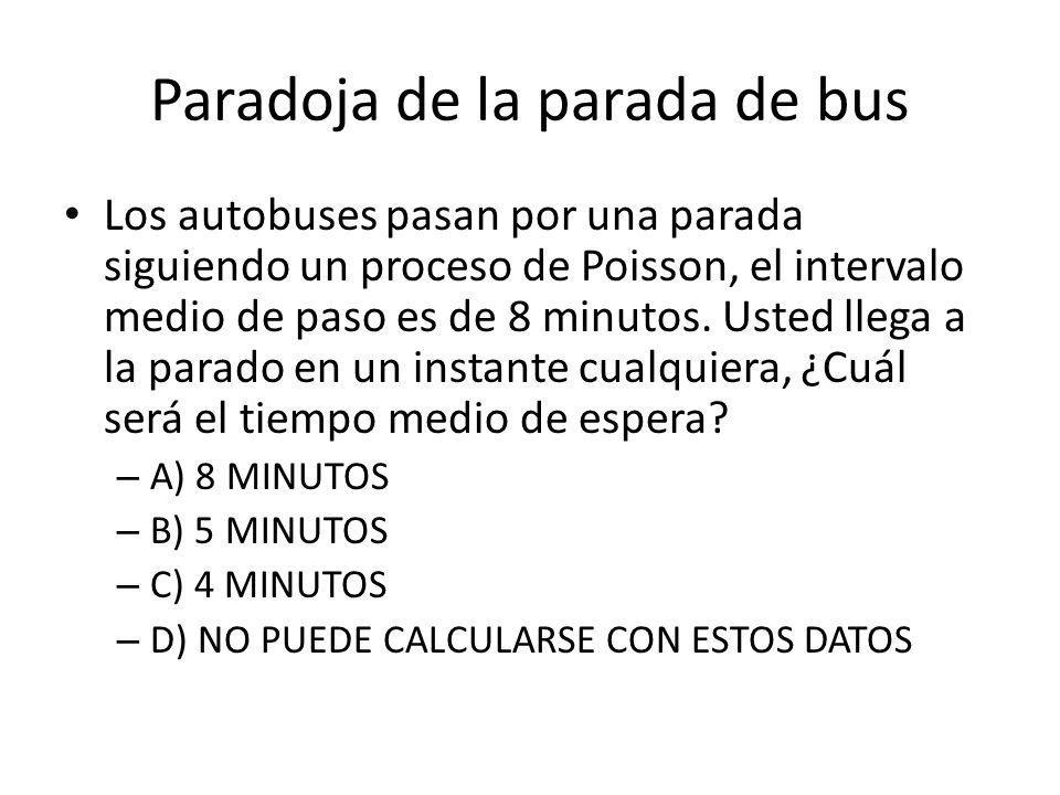 Paradoja de la parada de bus
