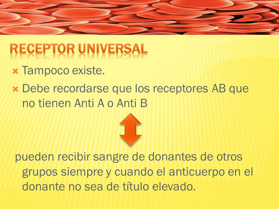 Receptor Universal Tampoco existe.