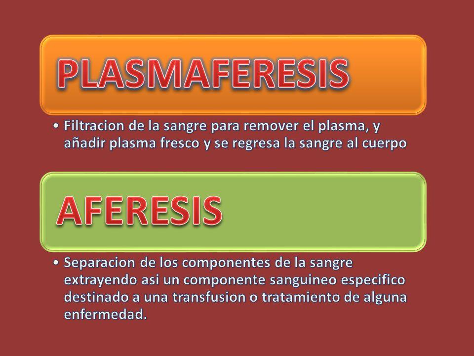 PLASMAFERESIS AFERESIS