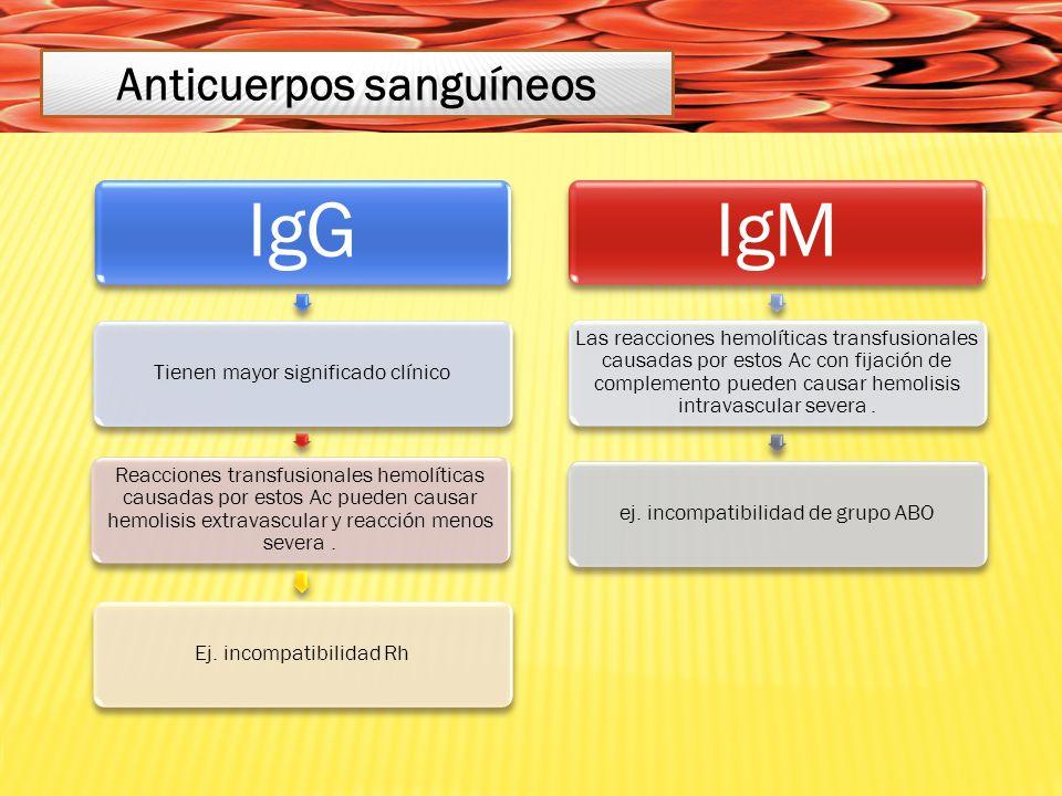 Anticuerpos sanguíneos