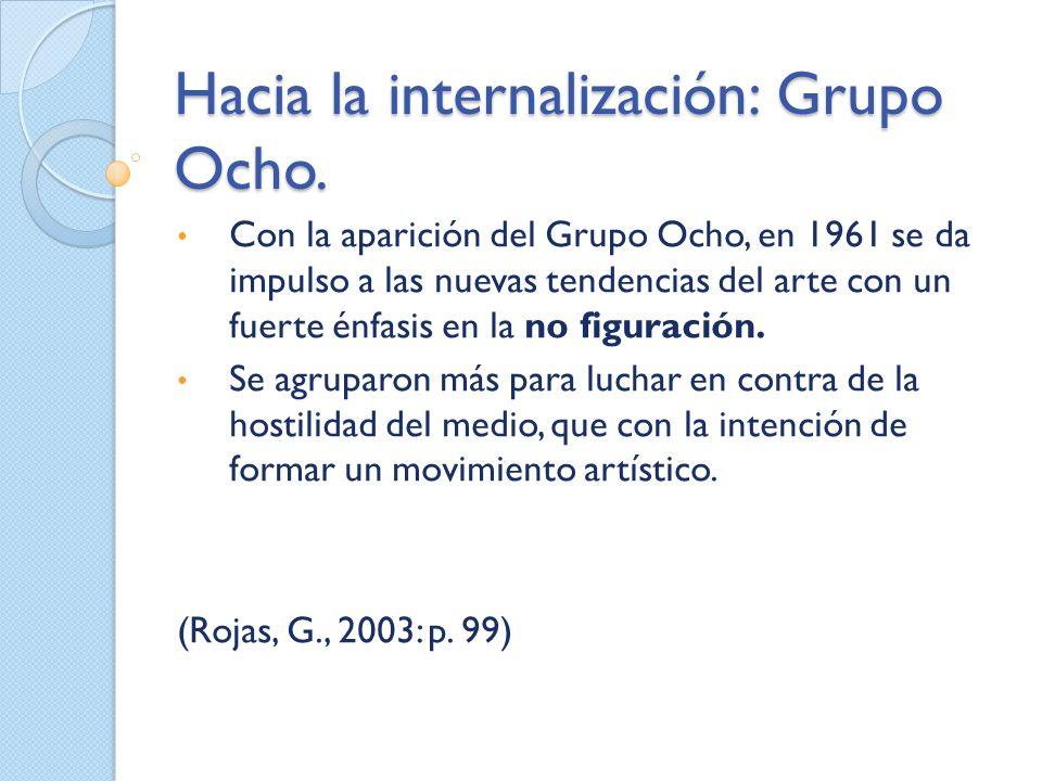 Hacia la internalización: Grupo Ocho.