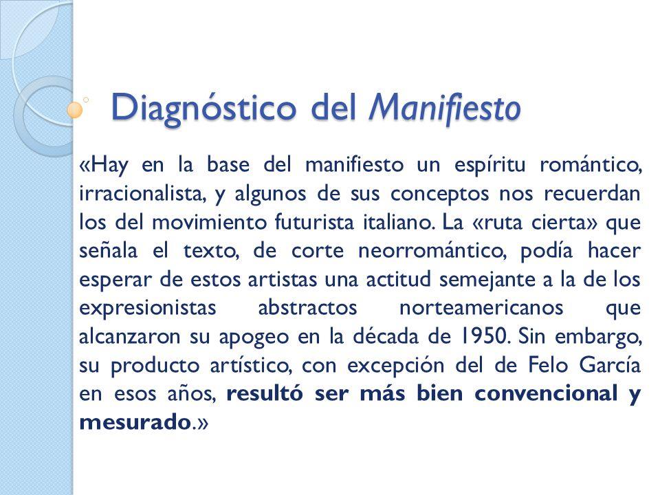 Diagnóstico del Manifiesto