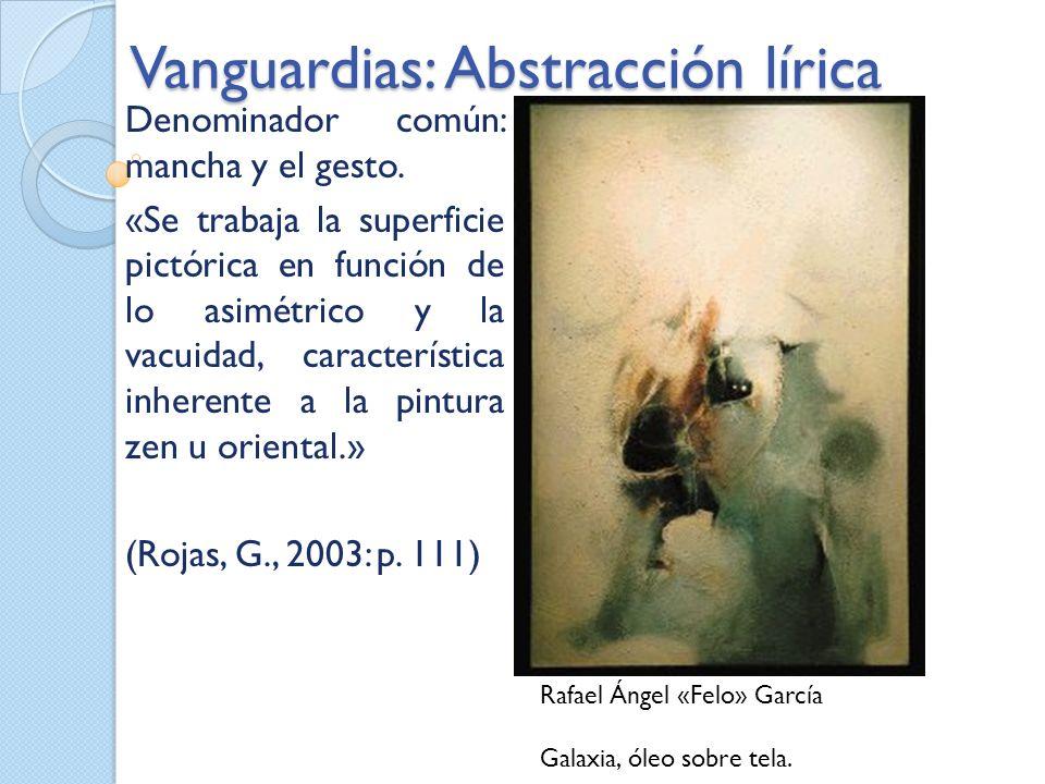 Vanguardias: Abstracción lírica