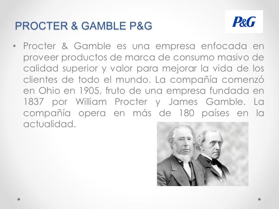 PROCTER & GAMBLE P&G