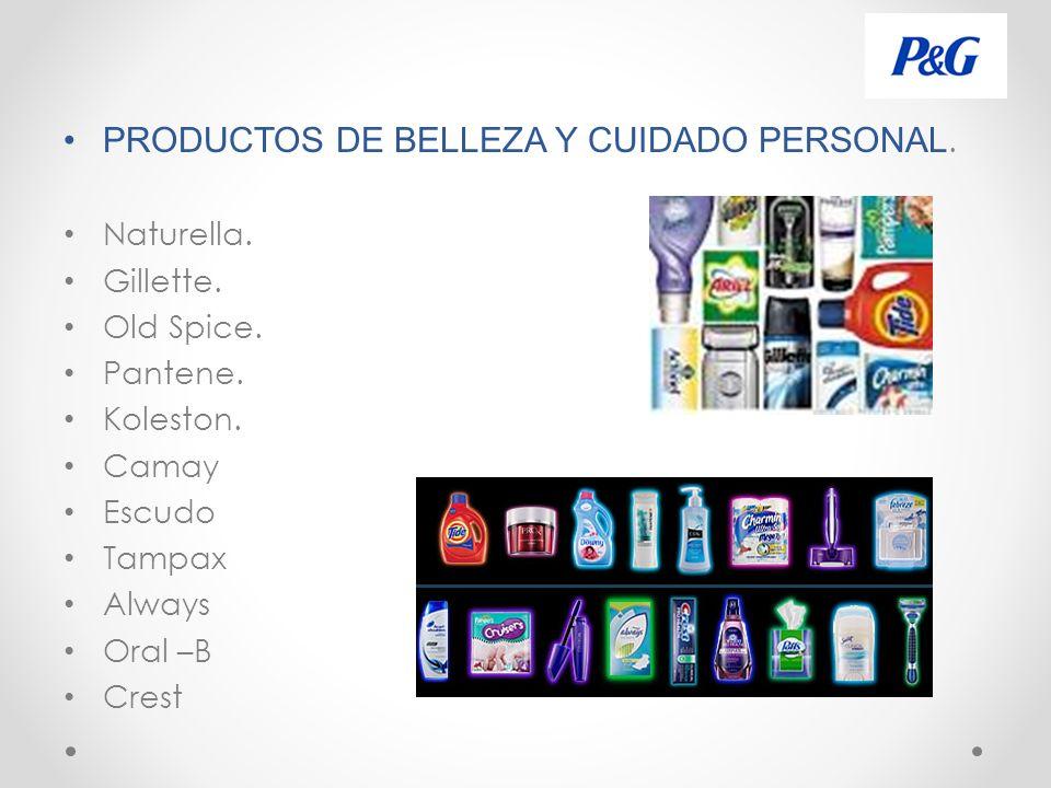PRODUCTOS DE BELLEZA Y CUIDADO PERSONAL.