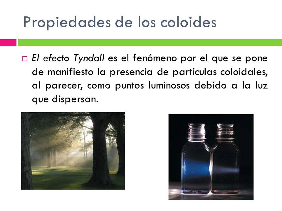 Propiedades de los coloides