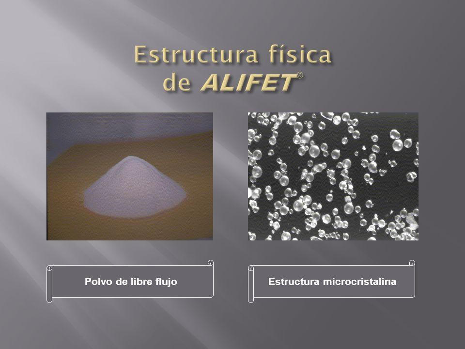 Estructura física de ALIFET®