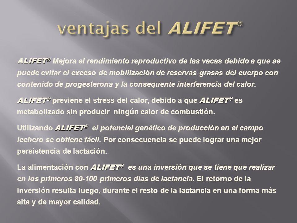 ventajas del ALIFET®
