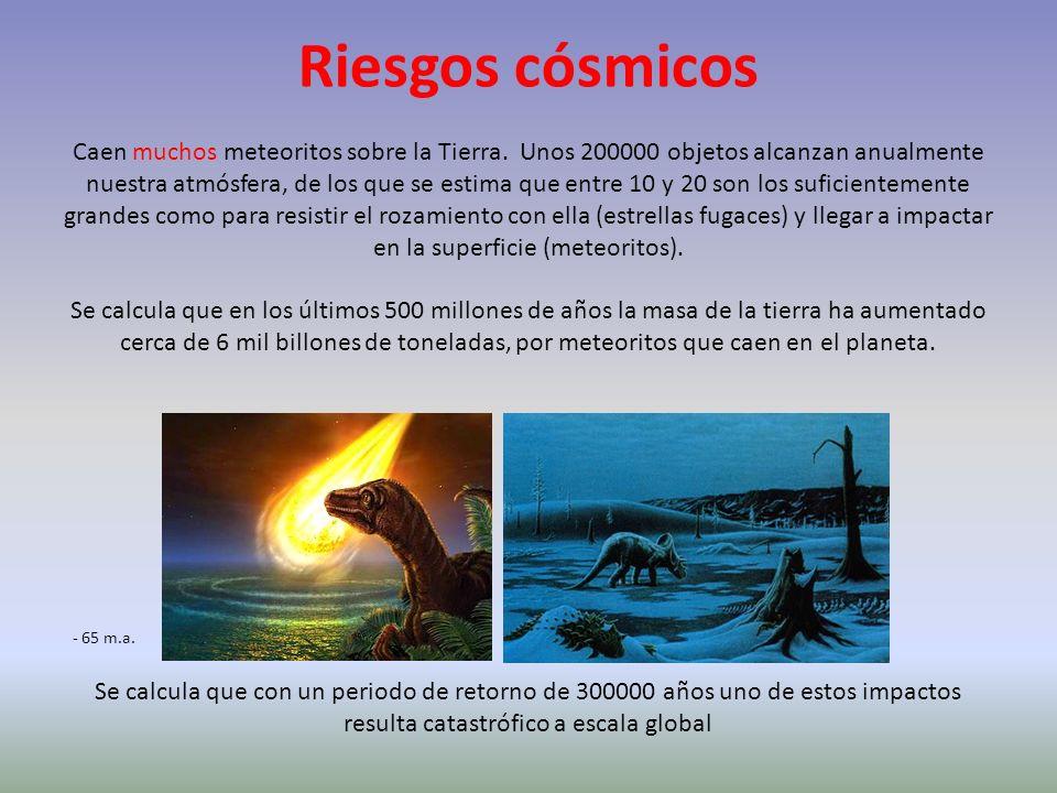 Riesgos cósmicos