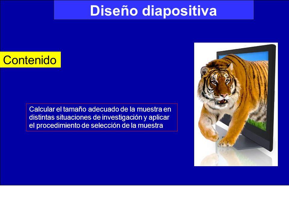 Diseño diapositiva Contenido