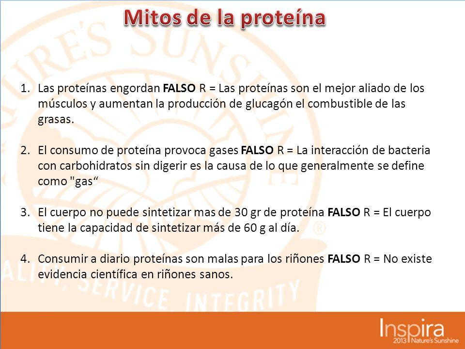 Mitos de la proteína