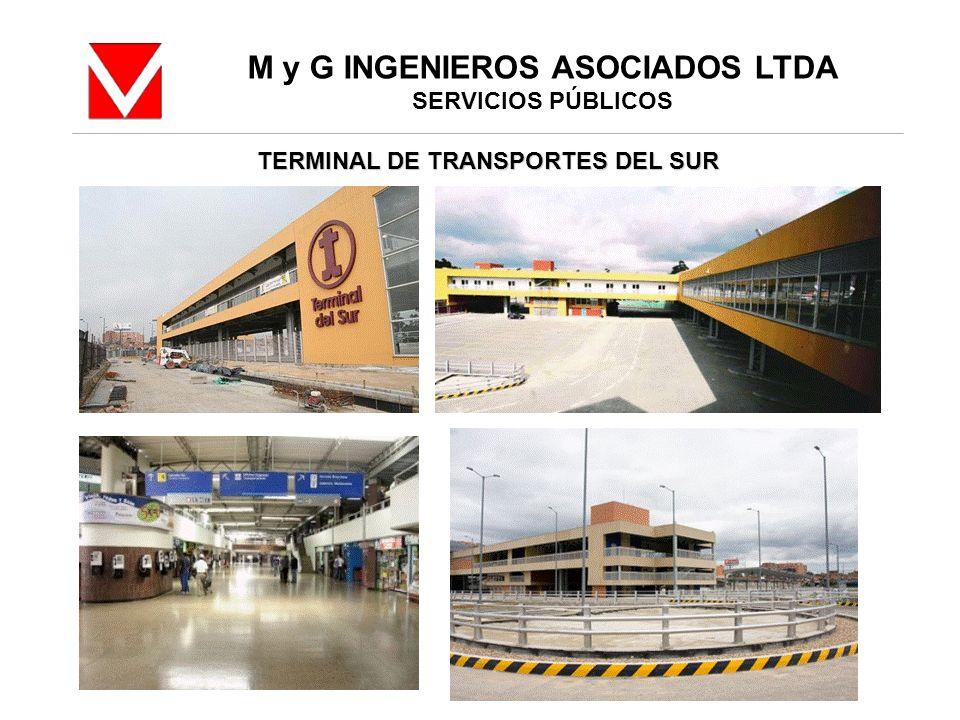 M y G INGENIEROS ASOCIADOS LTDA TERMINAL DE TRANSPORTES DEL SUR