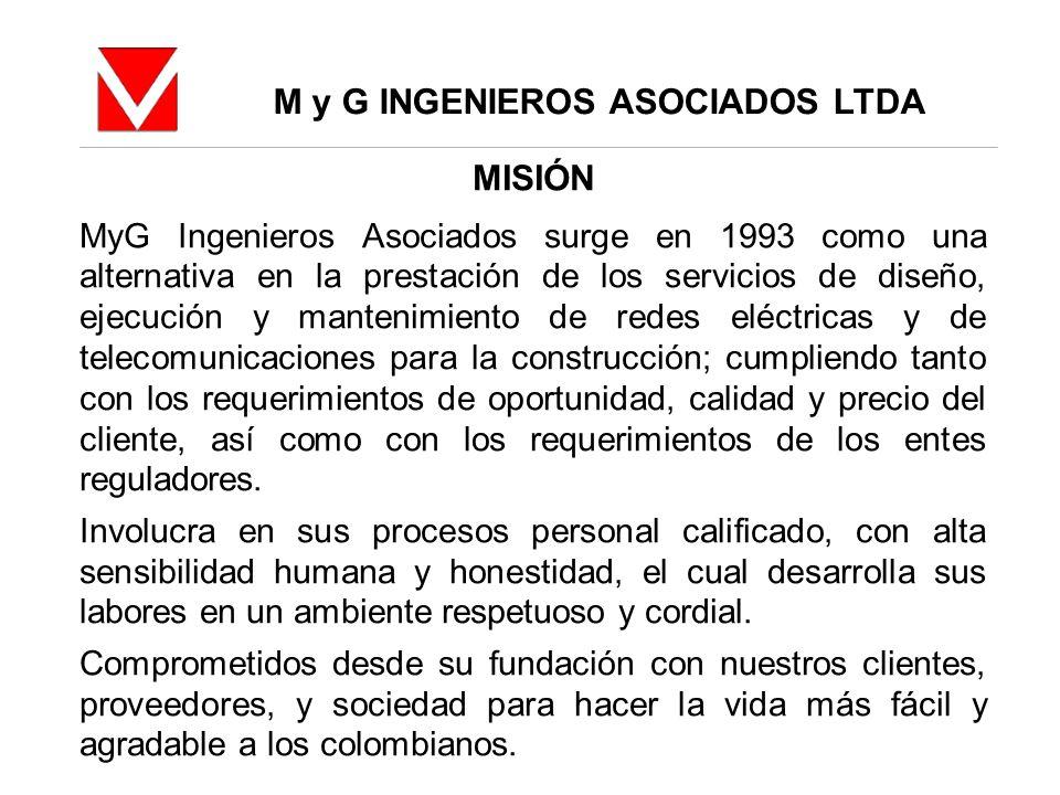 M y G INGENIEROS ASOCIADOS LTDA