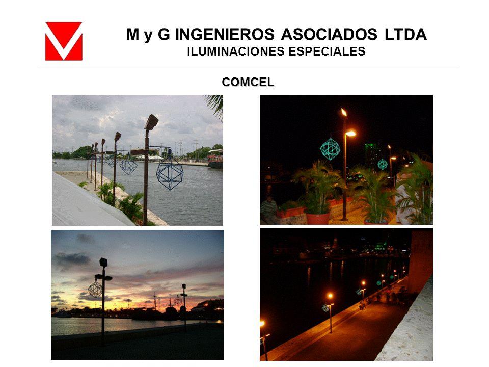 M y G INGENIEROS ASOCIADOS LTDA ILUMINACIONES ESPECIALES