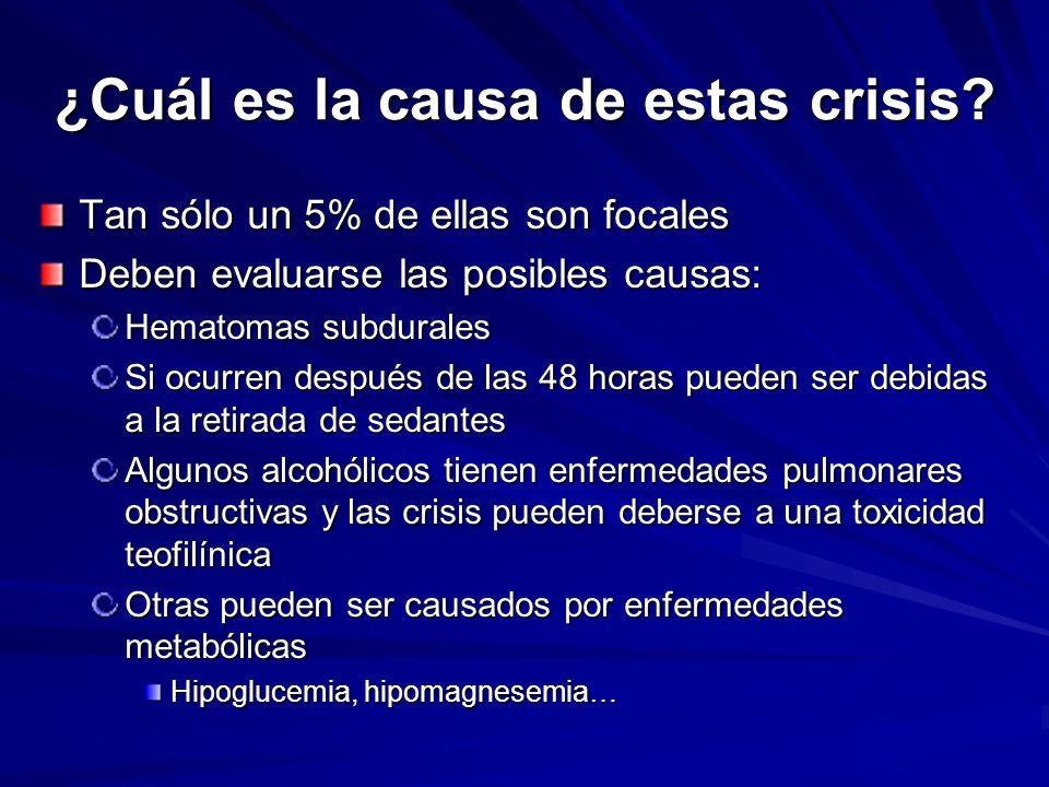¿Cuál es la causa de estas crisis