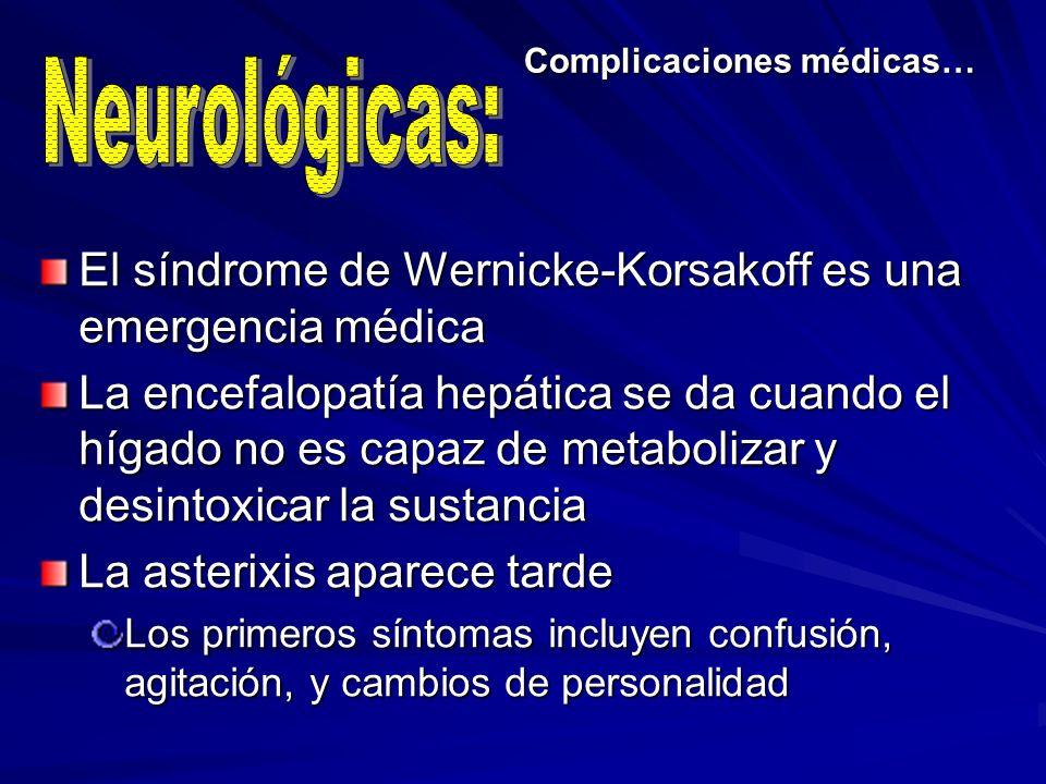 Complicaciones médicas…