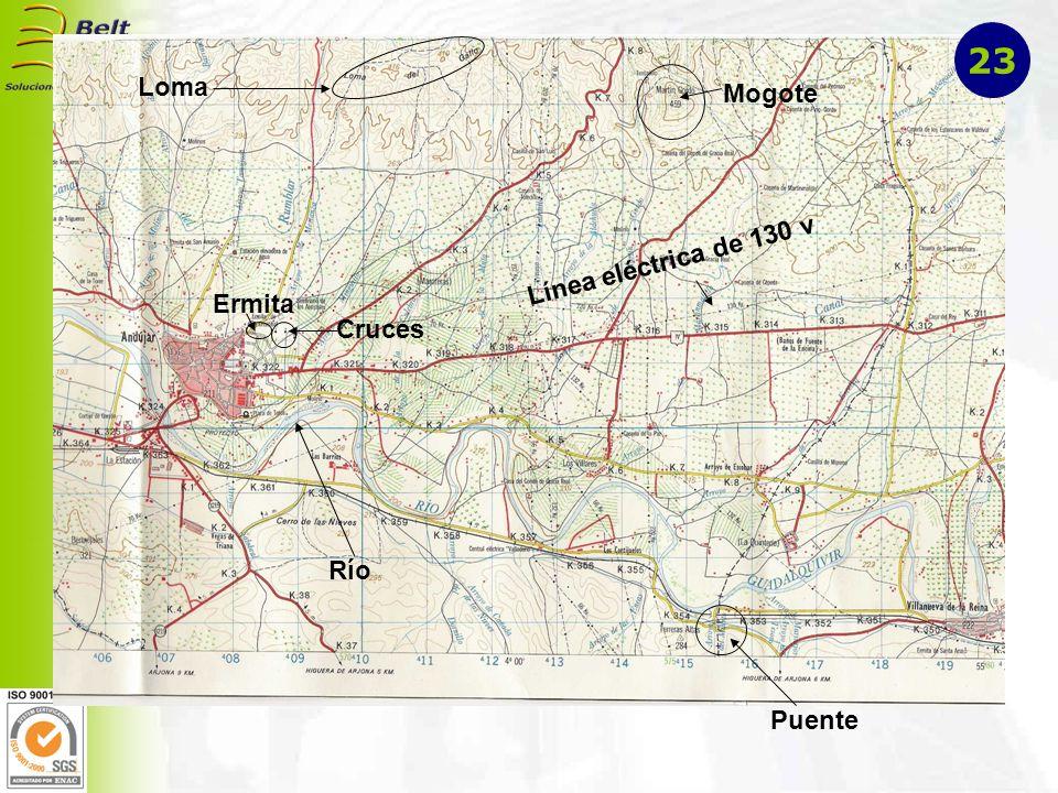 23 Loma Mogote Línea eléctrica de 130 v Ermita Cruces Río Puente