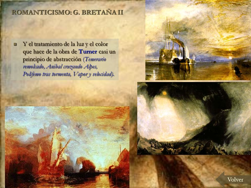 ROMANTICISMO: G. BRETAÑA II