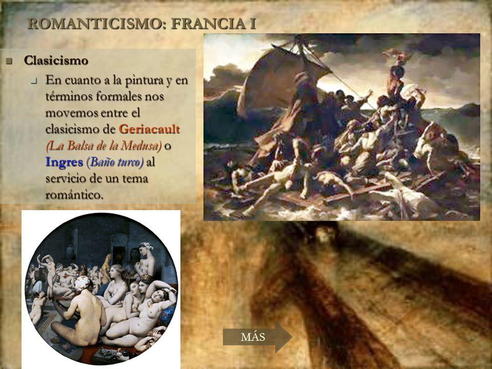 ROMANTICISMO: FRANCIA I