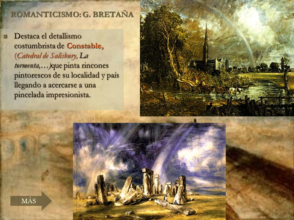ROMANTICISMO: G. BRETAÑA