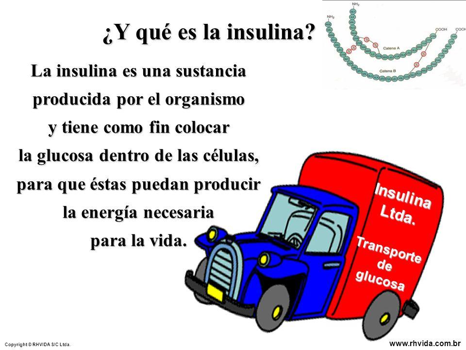 ¿Y qué es la insulina