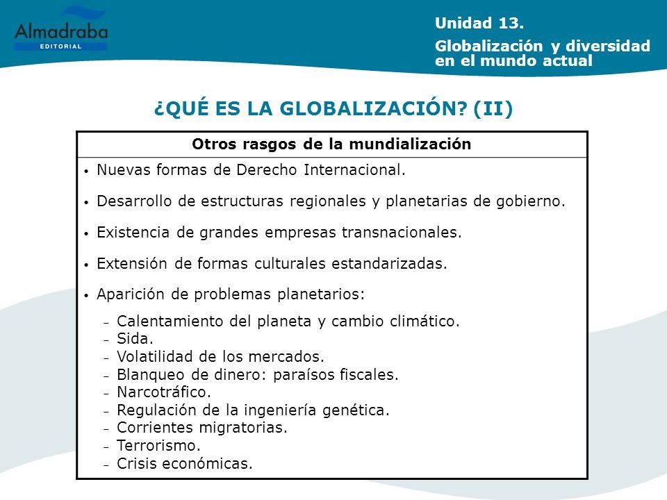 ¿QUÉ ES LA GLOBALIZACIÓN (II)