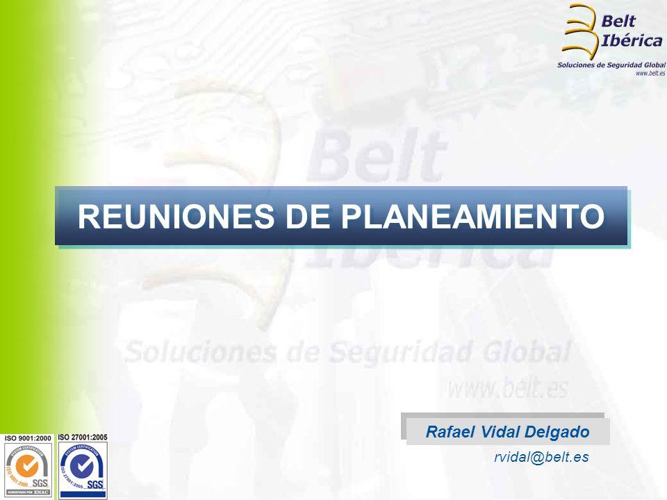 REUNIONES DE PLANEAMIENTO