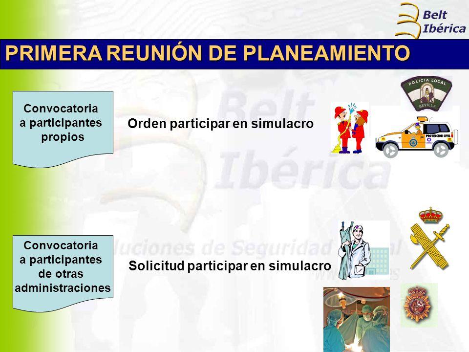 PRIMERA REUNIÓN DE PLANEAMIENTO