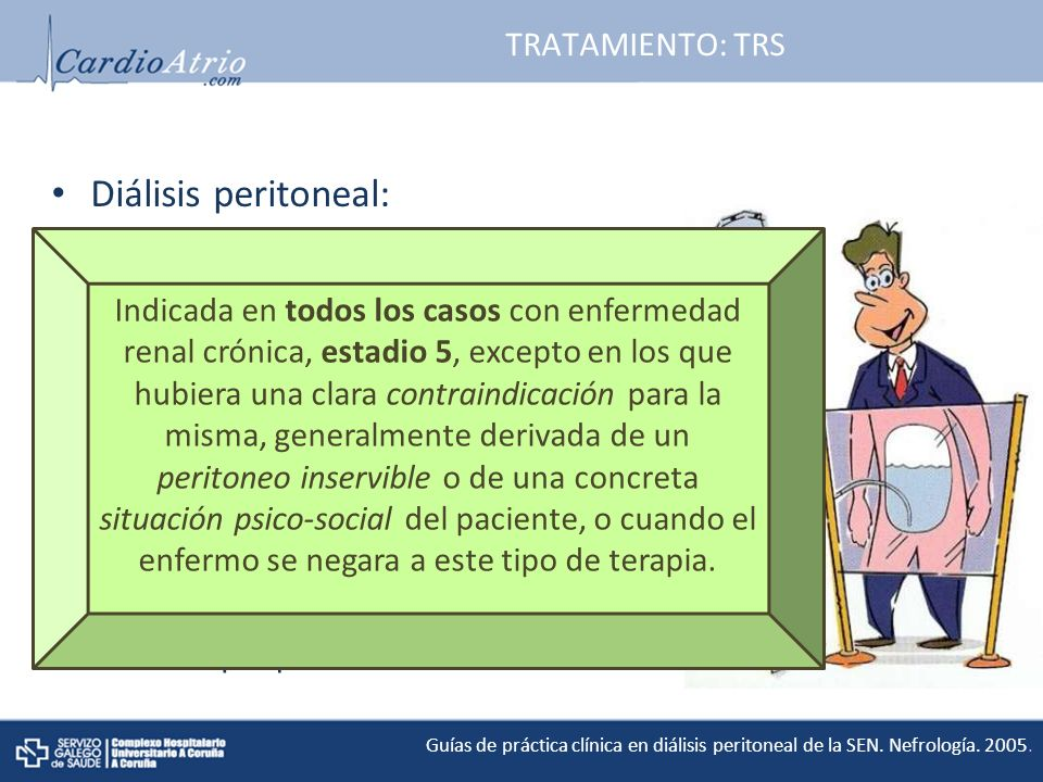 Diálisis peritoneal: TRATAMIENTO: TRS