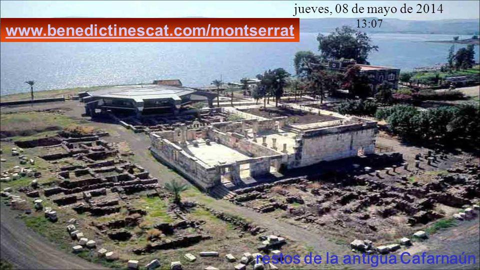restos de la antigua Cafarnaún