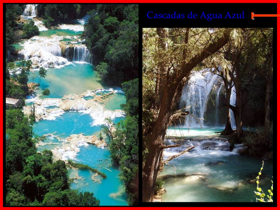 Cascadas de Agua Azul E
