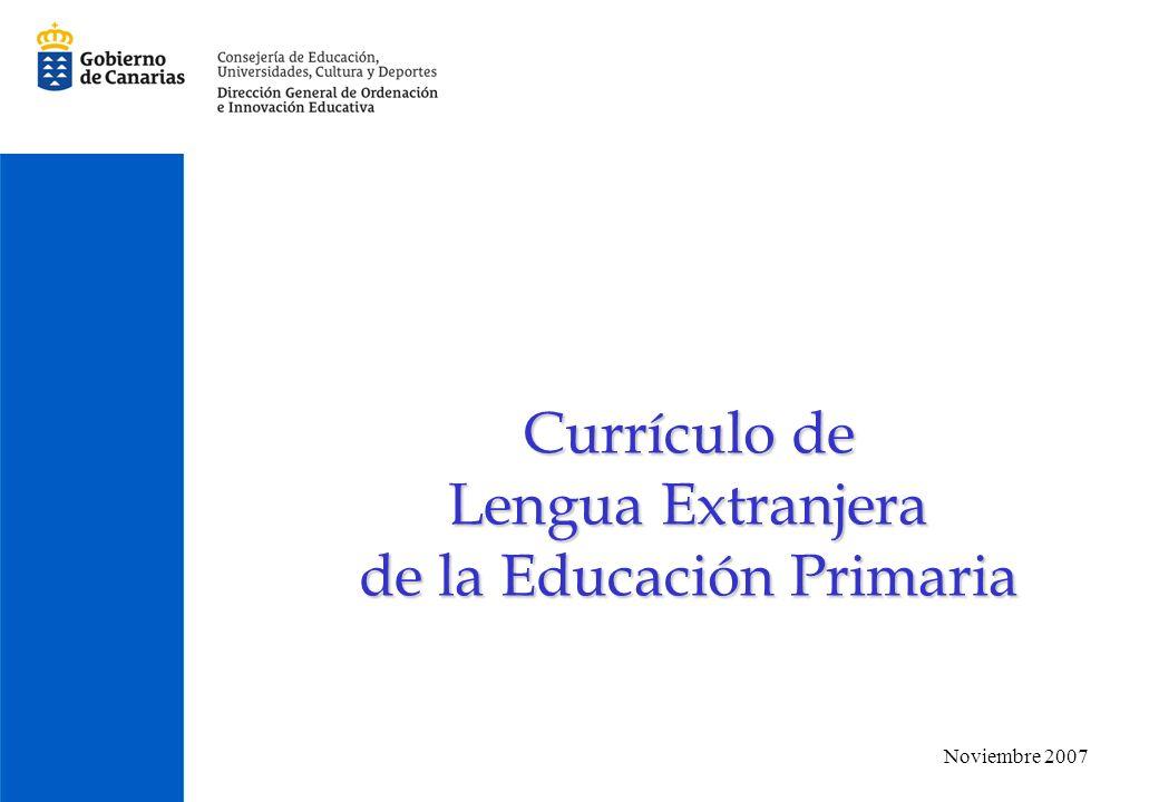 de la Educación Primaria
