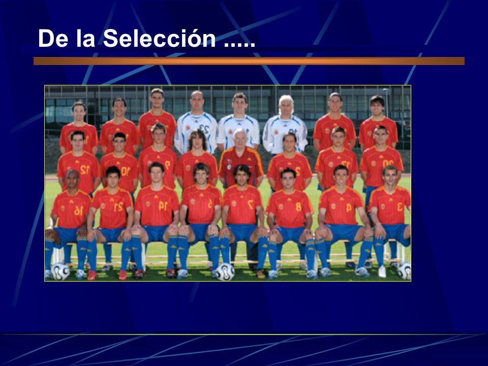 De la Selección .....