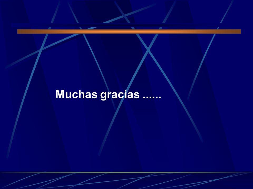 Muchas gracias ......