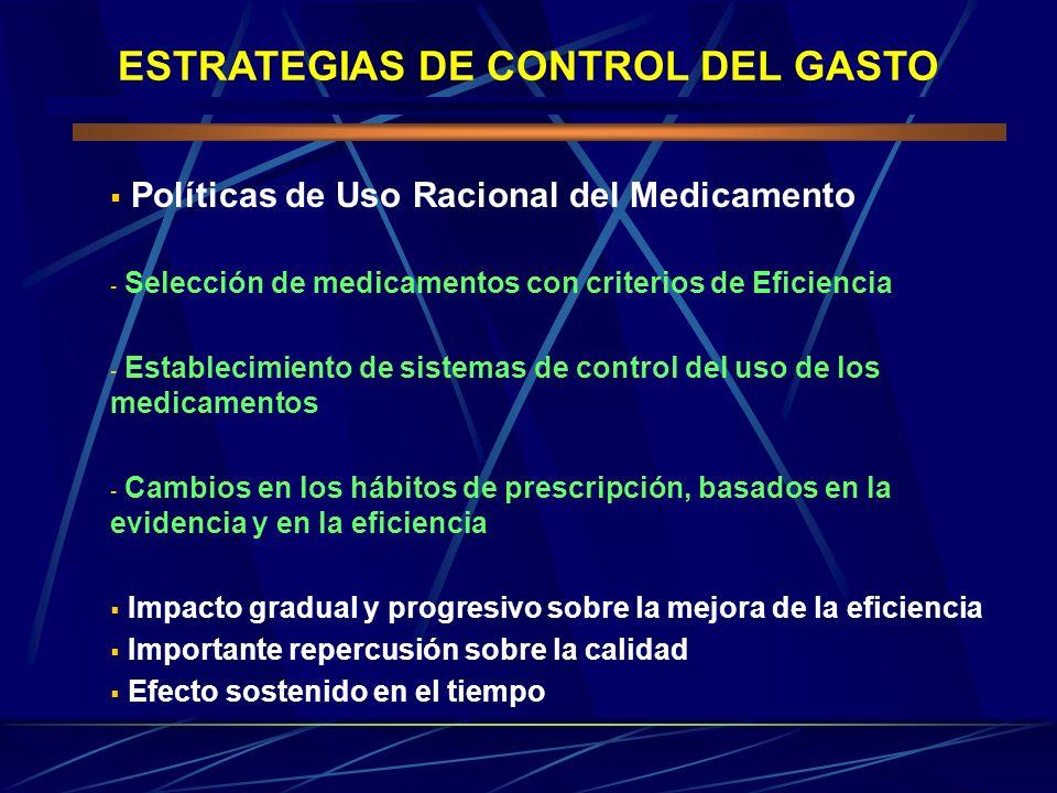 ESTRATEGIAS DE CONTROL DEL GASTO