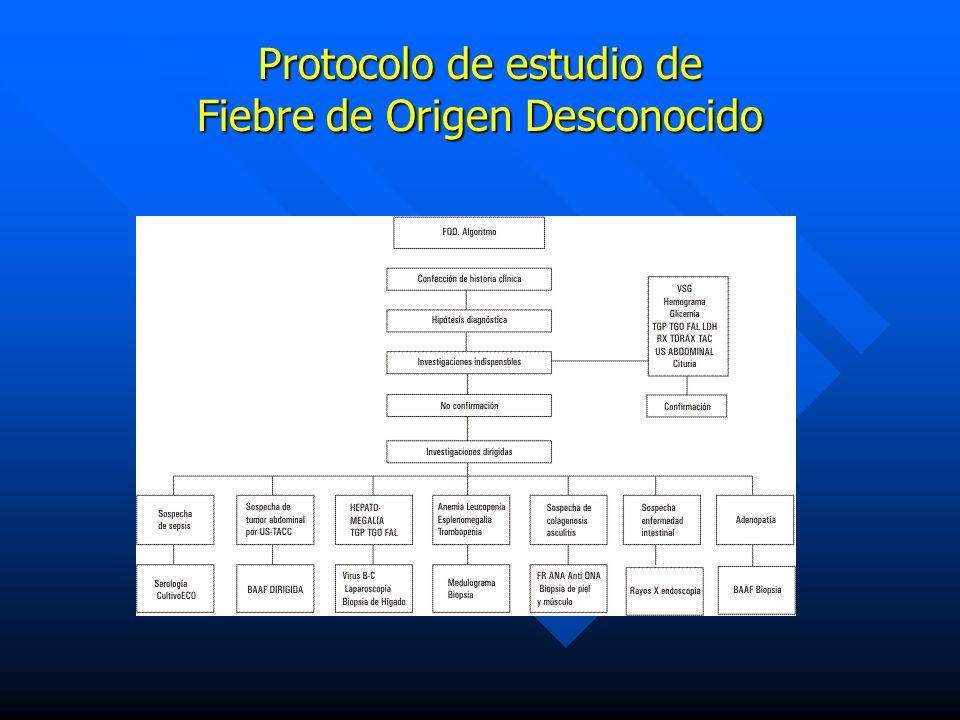Protocolo de estudio de Fiebre de Origen Desconocido
