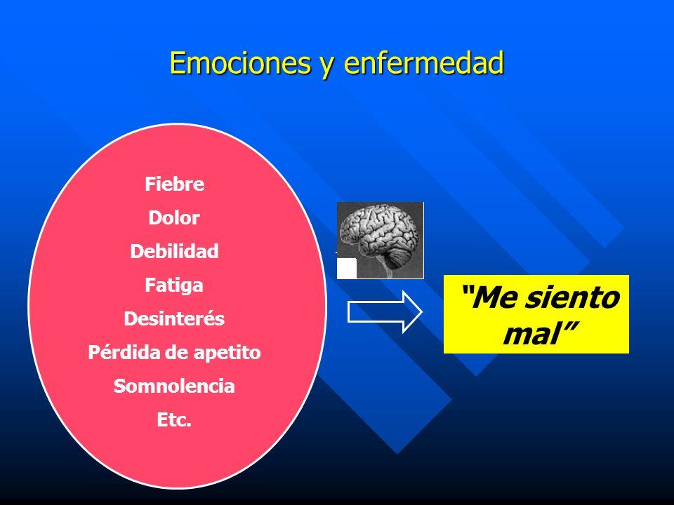 Emociones y enfermedad
