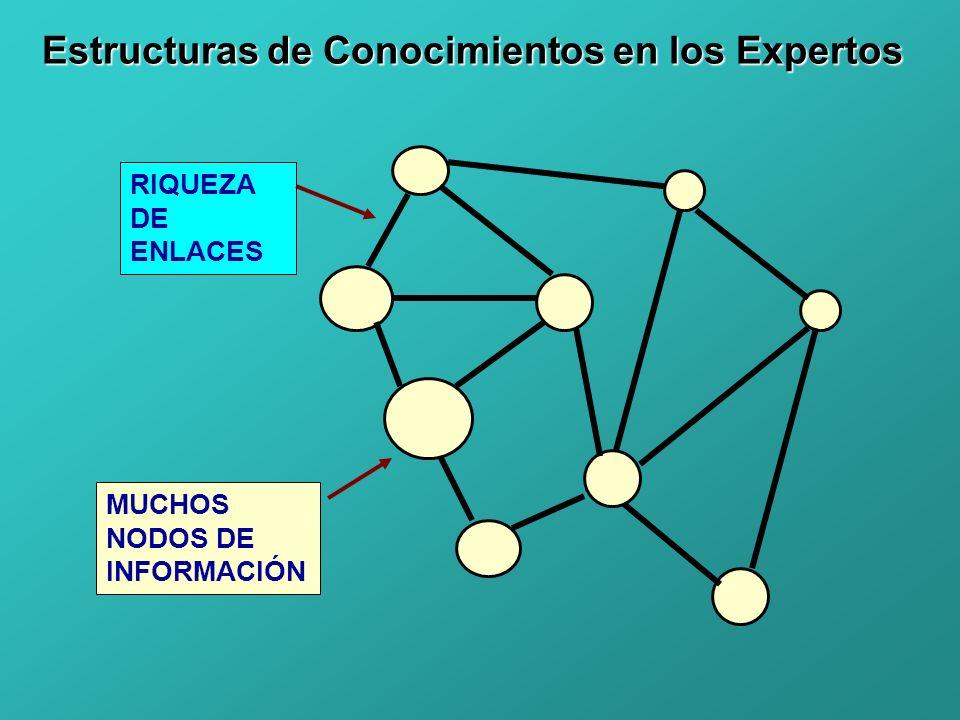 Estructuras de Conocimientos en los Expertos