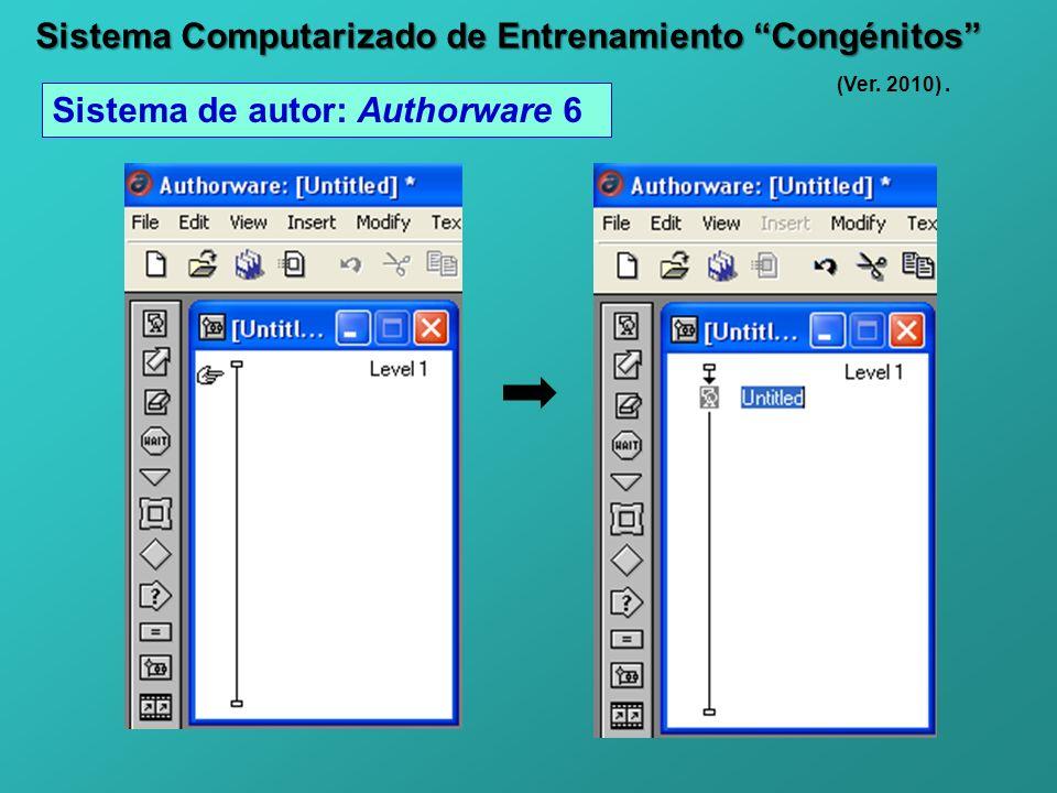 Sistema Computarizado de Entrenamiento Congénitos