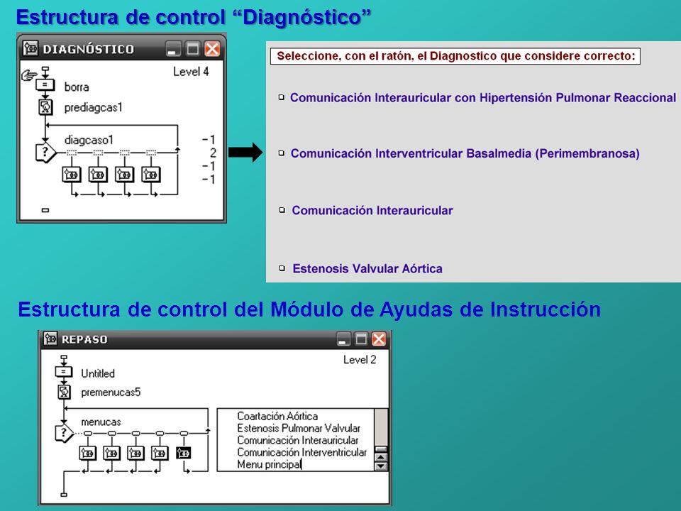 Estructura de control Diagnóstico