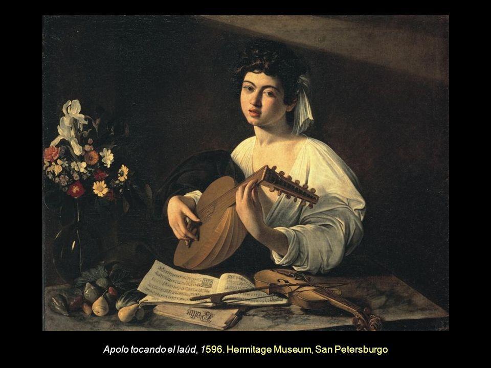 Apolo tocando el laúd, 1596. Hermitage Museum, San Petersburgo